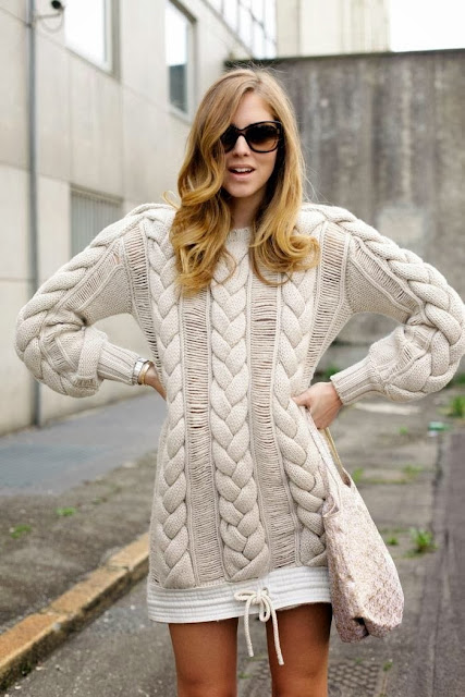 Stylish Long Warm Sweater