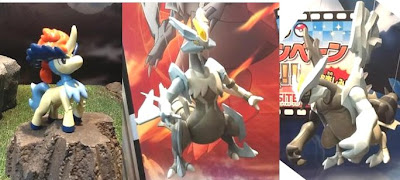 Pokemon Plamo Keldeo Black Kyurem White Kyurem at 51th Shizuoka Hobby Show from @HobbySite