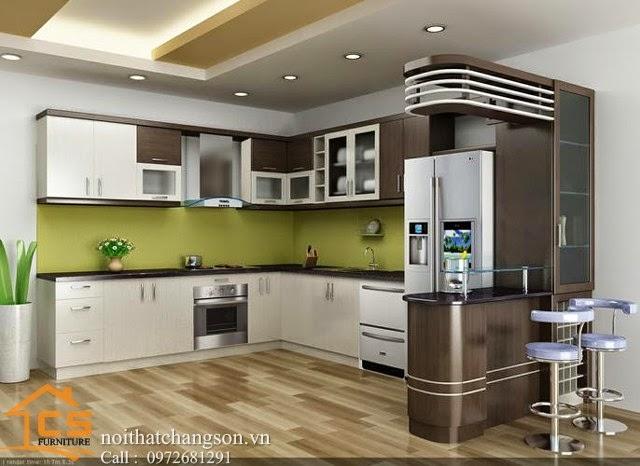 Hình Ảnh Mẫu Phòng Bếp Đẹp Năm 2014