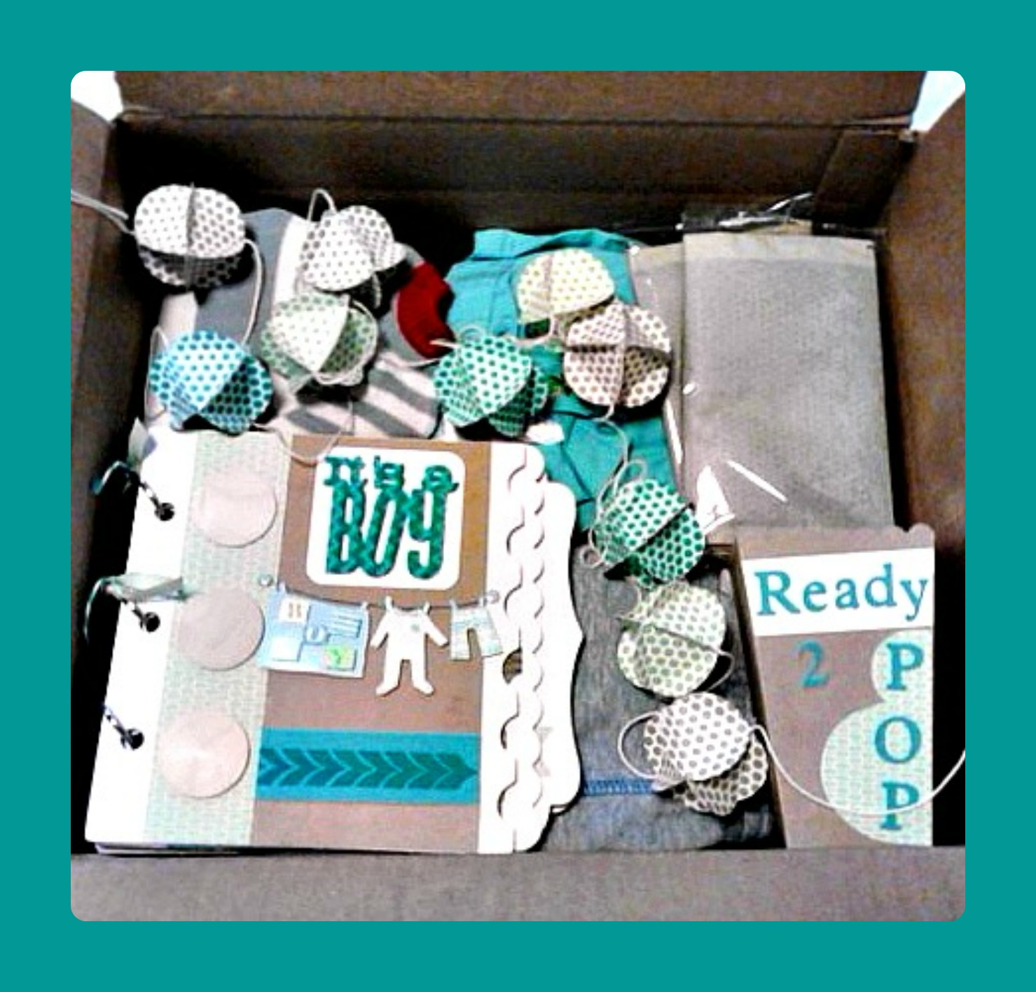 Crafty Paper Creations Happy Mothers Day Baby Shower In A Box