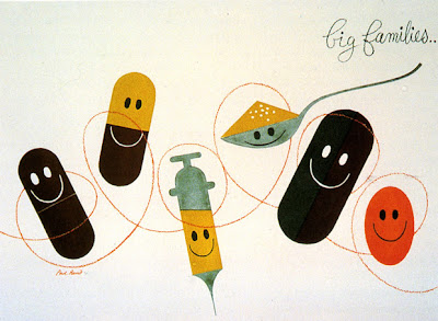 Ma Bicyclette: Inspiring Designers | Paul Rand's Theory on Contrast