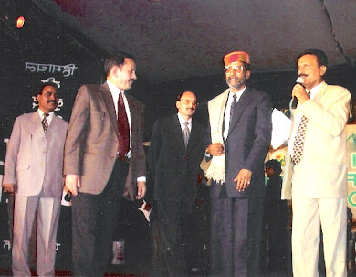 Rajen Todariya honoured in Shimla summer festiwal 2005