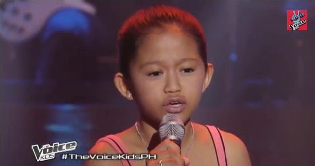 "Marianne Interino sings ""Luha"" on 'The Voice Kids' Philippines"