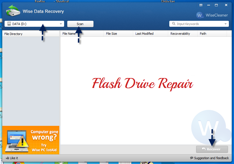 Best free data recovery software Wise Data Recovery
