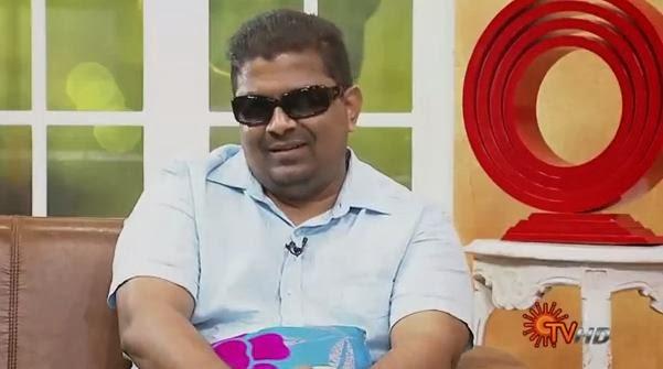 Virundhinar Pakkam – Director Mishkkin – Sun TV Show 16-10-2013