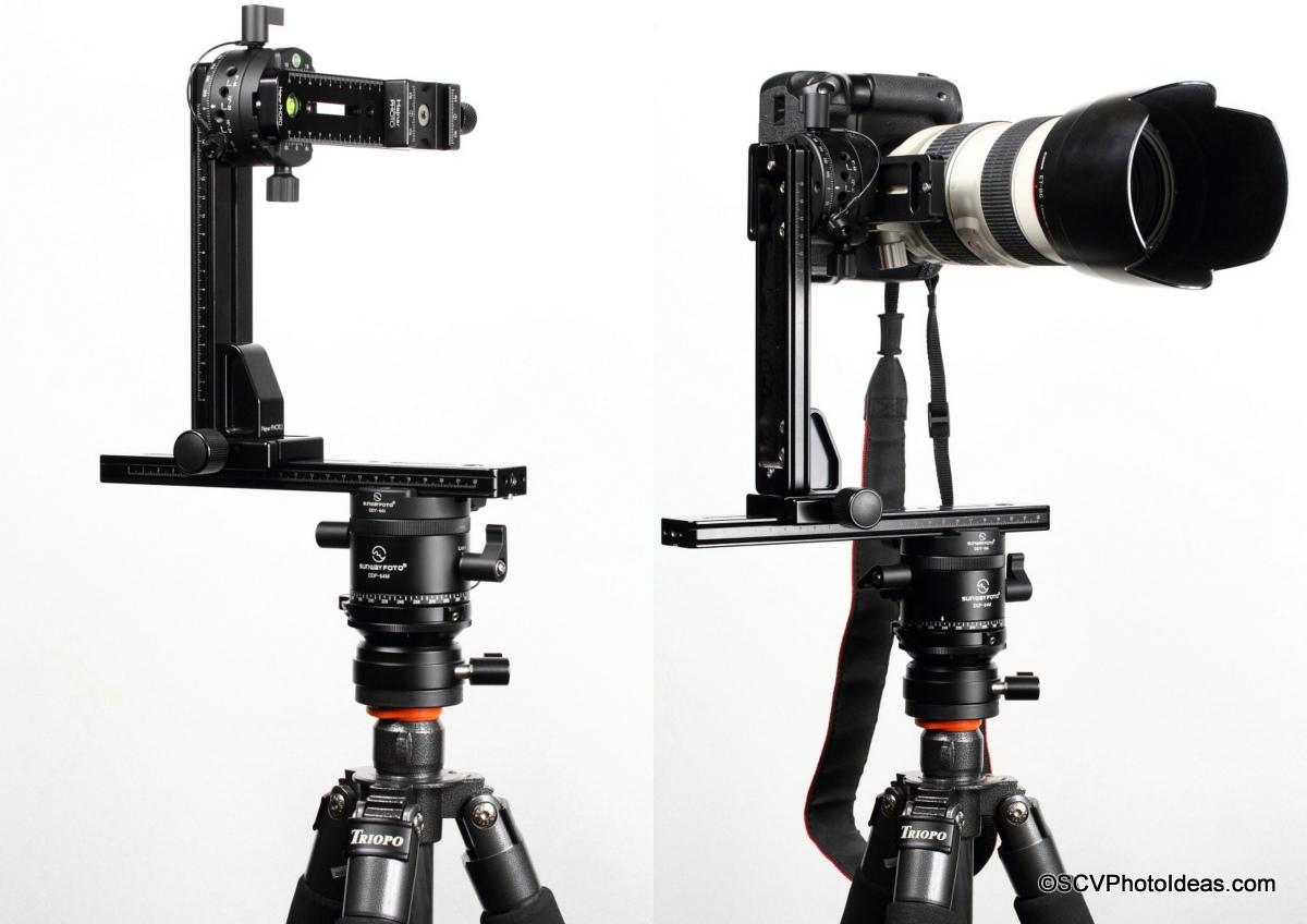 HDR Panorama head Assembly w/ Sunwayfoto rotators & Hejnar rails