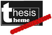 Thesis-Theme-Customization