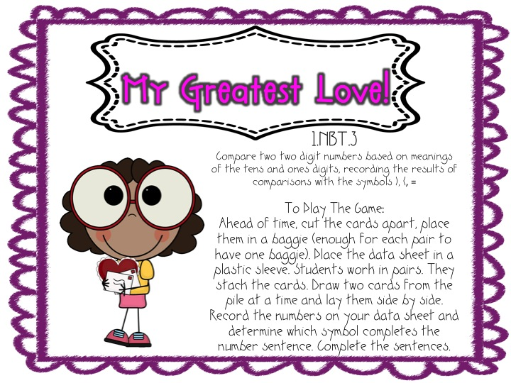 First Grade Fanatic Greater Thanless Than Alligator Symbols With