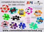 Miembro de la Comunidad Internacional de Fan Clubs Oficiales de Alejandro Sanz