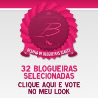 Participei do Desafio de Blogueiras Bebecê