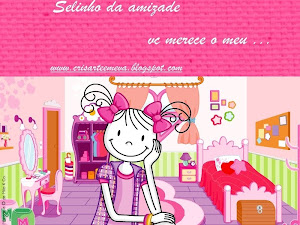 Ganhei este selinho do blog Cris Arte obrigadooo.  www.crisarteemeva.blogspot.com