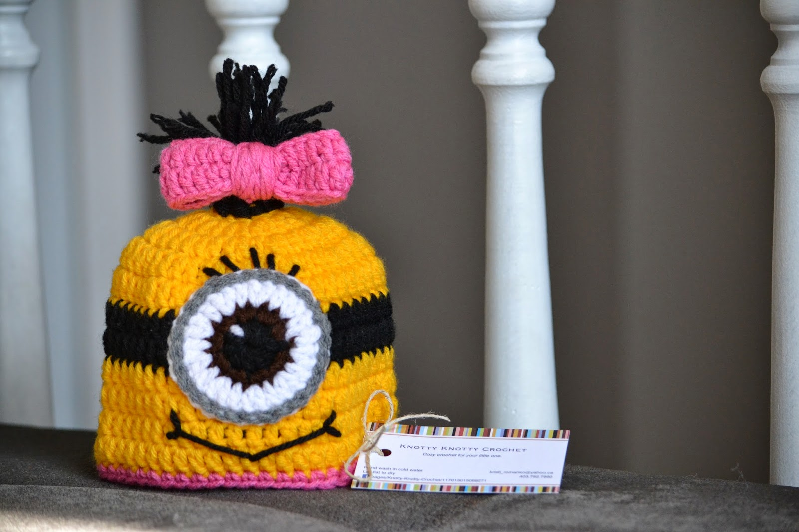 Knotty knotty crochet minions oh minions free pattern minions oh minions free pattern bankloansurffo Images