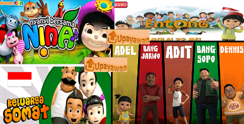 Gambar Film Animasi Anak-Anak Indonesia - Upayawan
