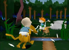 Rugrats Search for Reptar PS1 game