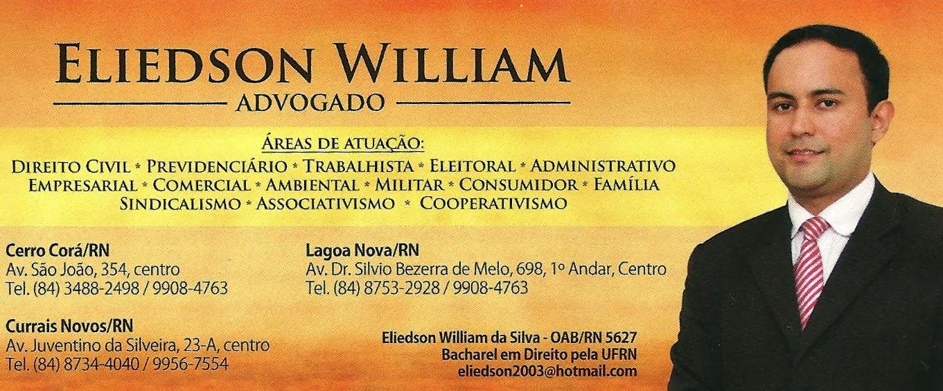 ASSESSORIA JURÍDICA  ELIEDSON WILLIAN (Advogado)