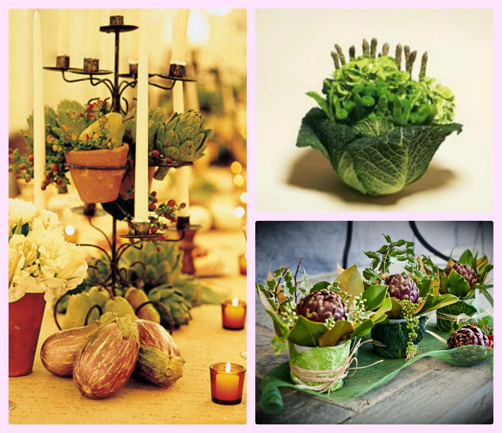 Bio eventi eco eventi consapevoli centrotavola con for Frutta con la o iniziale