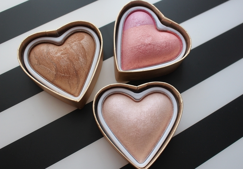 Róż, bronzer i rozświetlacz - I Heart MakeUp