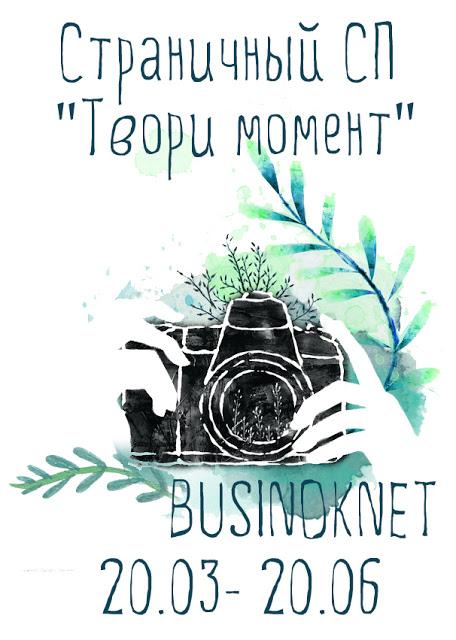 """СП """"Твори момент"""" с блогом Businok.net"""