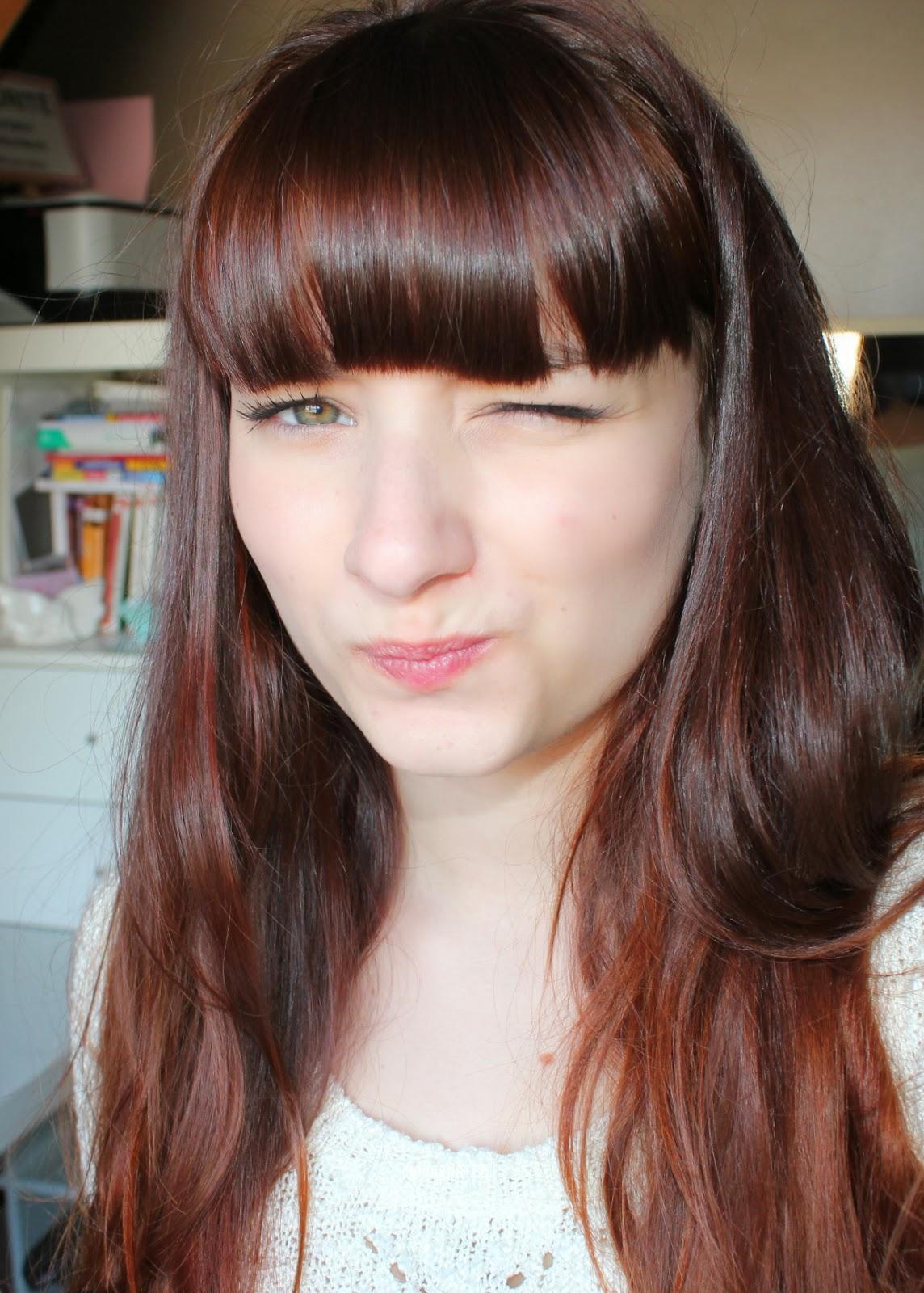 M ches sur cheveux bruns fonc s - Meche blonde et rouge ...