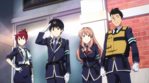 Rail Wars! BD Episode 1 - 12 [END] Subtitle Indonesia