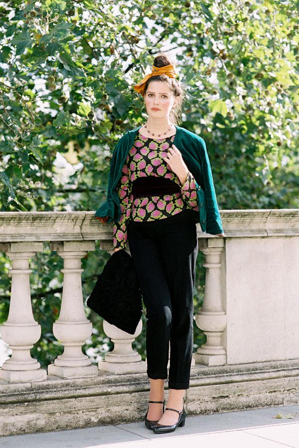 Vanessa Jackman London Fashion Week Ss 2013 Rosalind