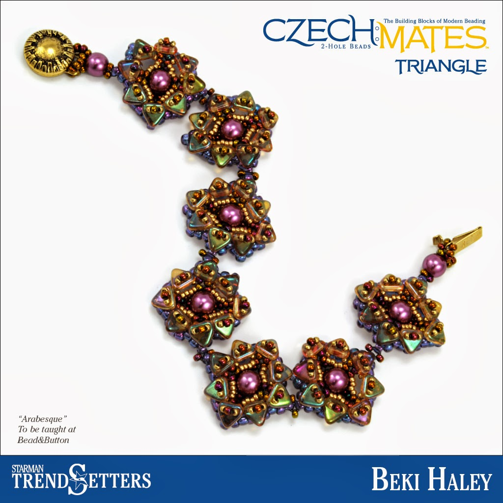 CzechMates Triangle Bracelet by Starman TrendSetter Beki Haley