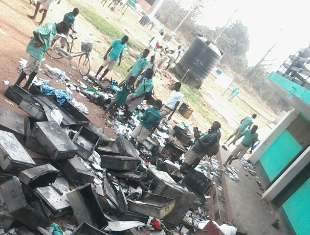 [Video] Berekum Senior High School On Fire
