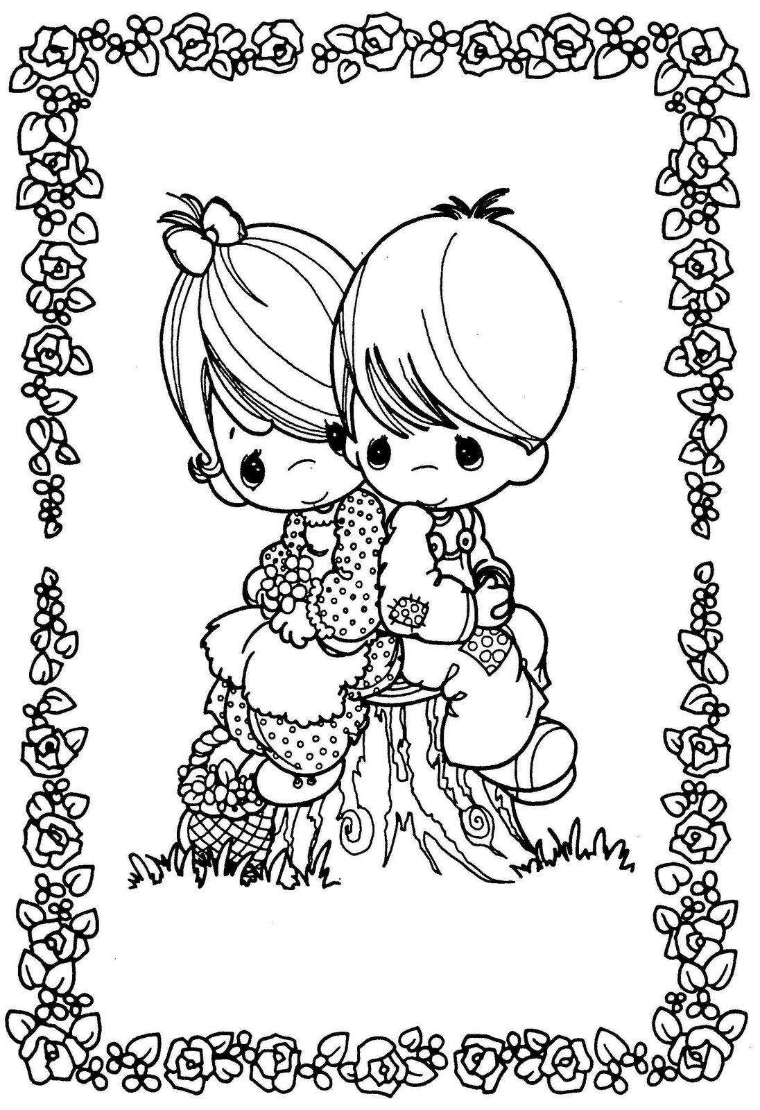 Dibujos para Colorear y Manualidades: Amor para colorear