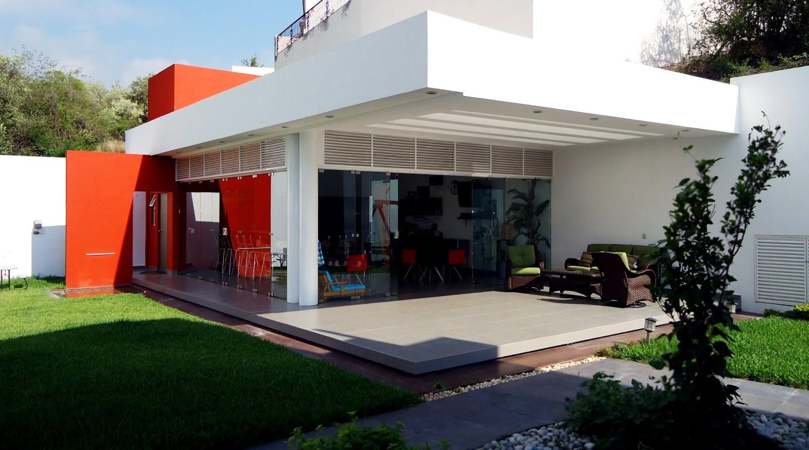fotos jardins rusticos:Fotos De Casas Modernas Con Palapa