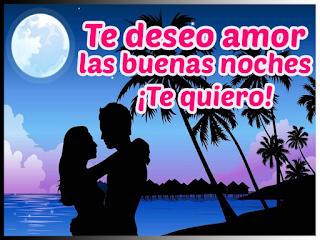 frase de buenas noches amor