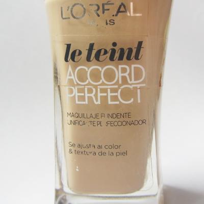 base maquillaje loreal accord perfect