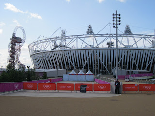 London 2012 Olympic Stadium and Orbit