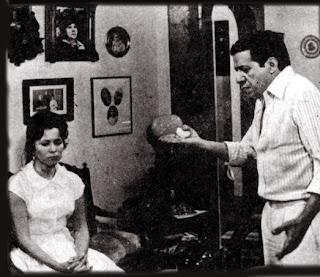 Theresa Amayo (Dona Mocinha) com Lutero Luiz (Prefeito Florindo Abelha ...