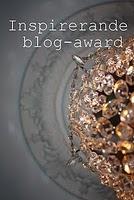 Award från sötaste Hedvig!