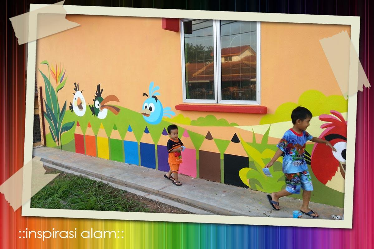 Inspirasi alam februari 2013 for Mural untuk taska