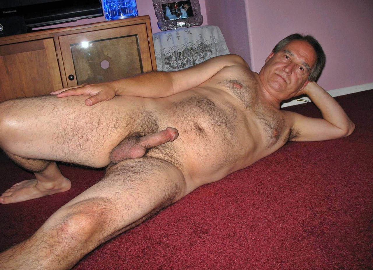Naked Old Man Nude