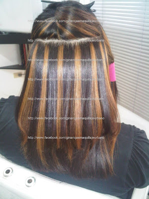"""Tutorial:Como hacer el """"Ombre Hair"""" & Highlights,Rayitos o"""