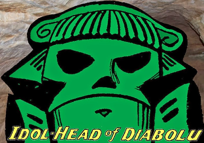 The Idol-Head of Diabolu, a Martian Manhunter blog