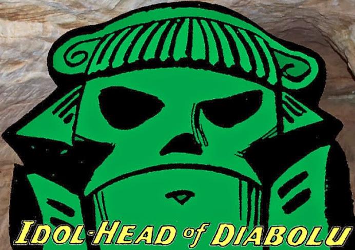 The Idol-Head of Diabolu, a Martian Manhunter blog