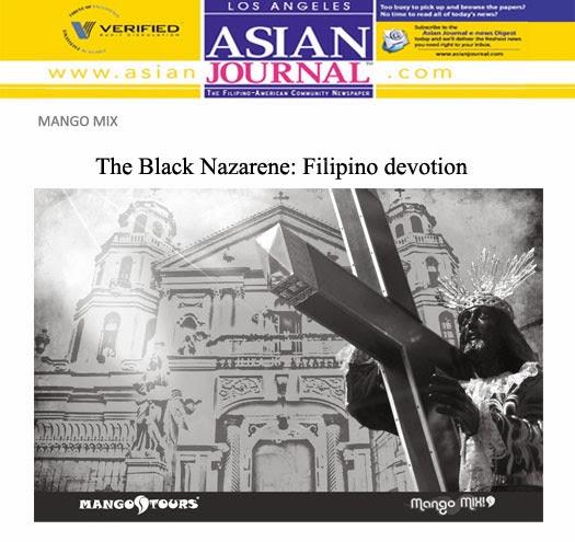 Quiapo Black Nazarene Mango Tours Mango Mix