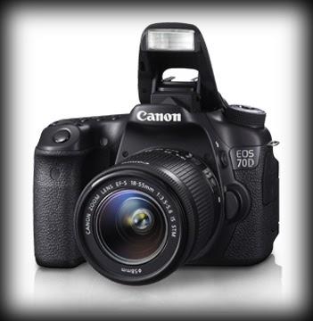 Review, Spesifikasi dan Harga Kamera DSLR Canon EOS 70D