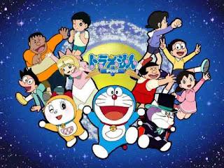 Gambar lucu Doraemon dan teman-teman