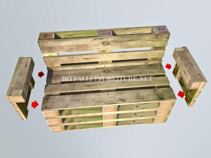 Como hacer un banco con palets paso for Como hacer muebles con palets de madera