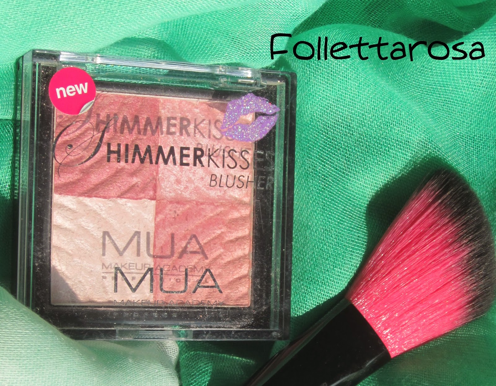 shimmer kiss blusher oponione