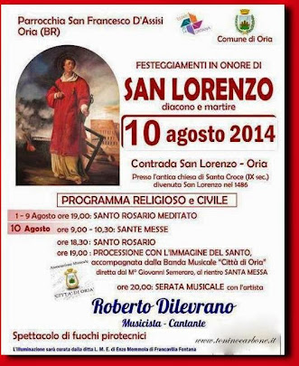 festeggiamenti in contrada san lorenzo