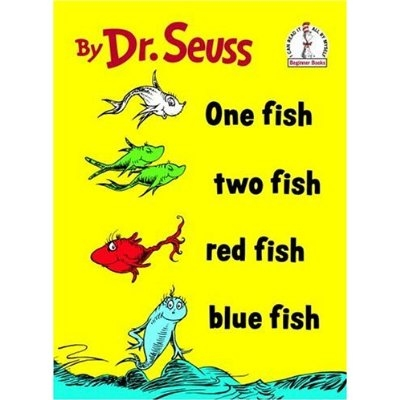 One fish two fish red fish blue fish apples and abc 39 s for One fish two fish red fish blue fish
