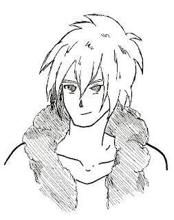 Portrait manga 1 - par Juju Gribouille