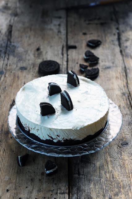 Cheese cake très Oreo Sharks'attack pour continuer à s'amuser en cuisine !