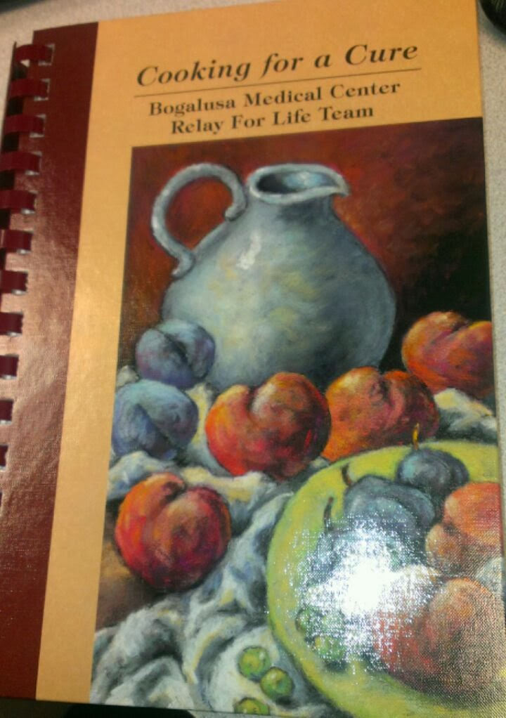 relay for life cookbook