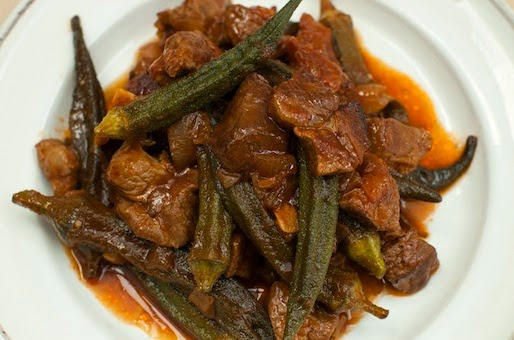 Okra and Lamb Recipe